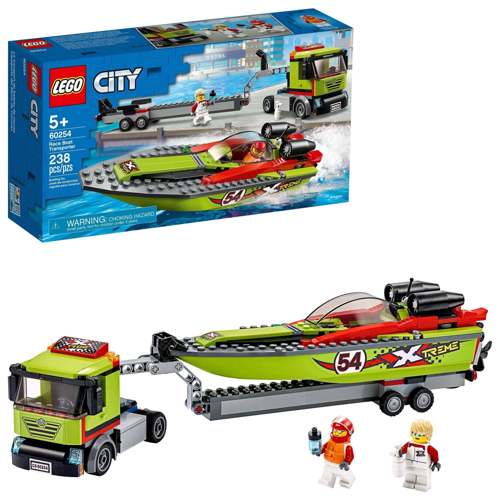 Lego City - Race Boat Transporter 60254