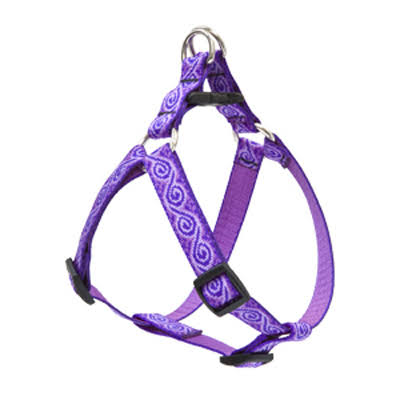 Lupine Jelly Roll Step In Dog Harness - 3/4 in