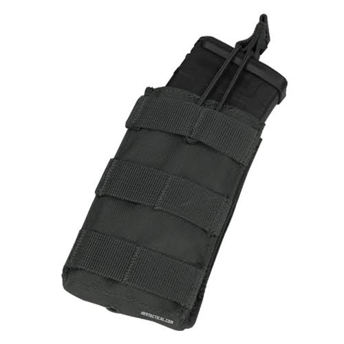 Condor Ma18 Single Open-Top 5.56mm Molle Hunting Magazine Pouch Black