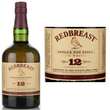 Redbreast 12 Year Irish Whiskey - 90/100 Rating