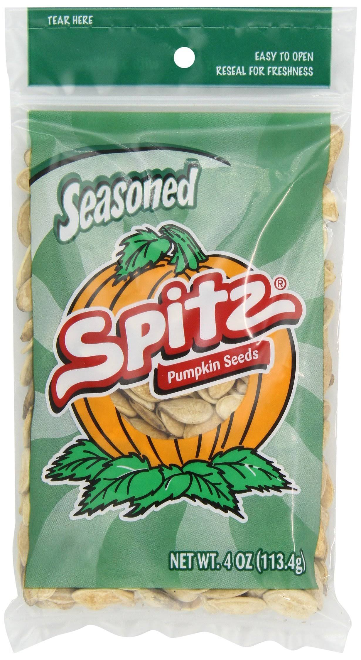 Spitz Pumpkin Seeds - 4oz, Seasoned