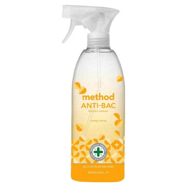 Method Antibacterial Kitchen Cleaner - Sunny Citrus, 828ml
