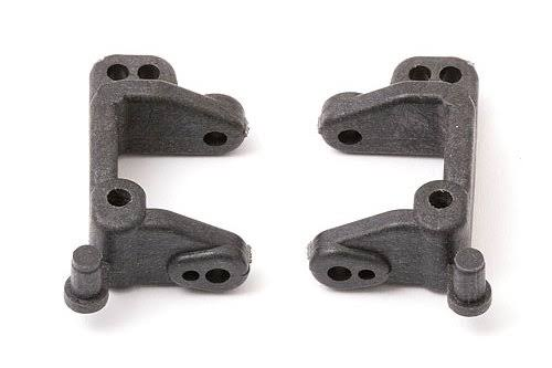 Team Associated 9592 Ft Right and Left Caster Blocks - 20 Degrees
