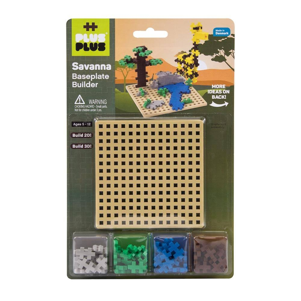 Plus Plus Savana Building Toy