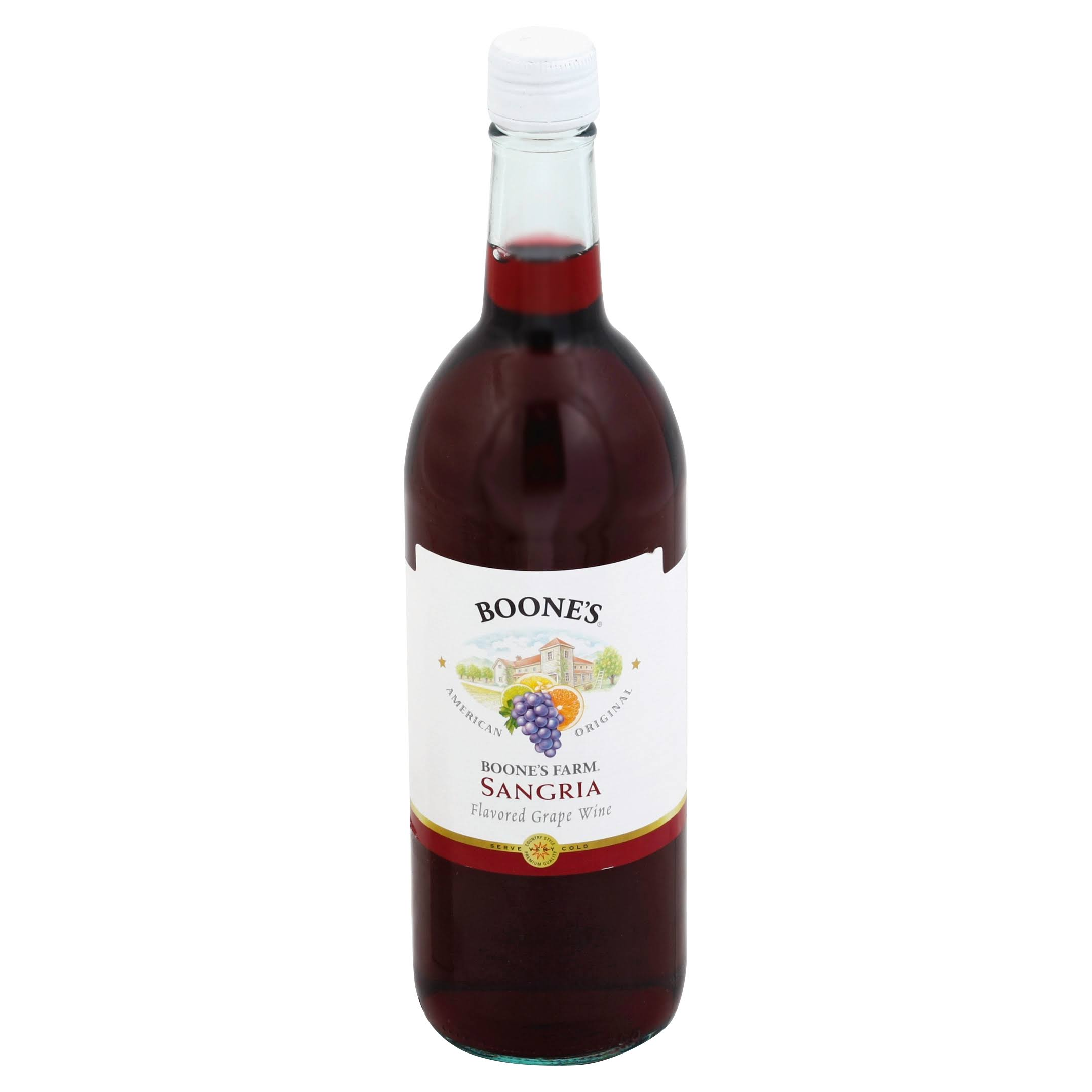 Boone's Farm Grape Wine - Sangria Flavored, 25.36oz