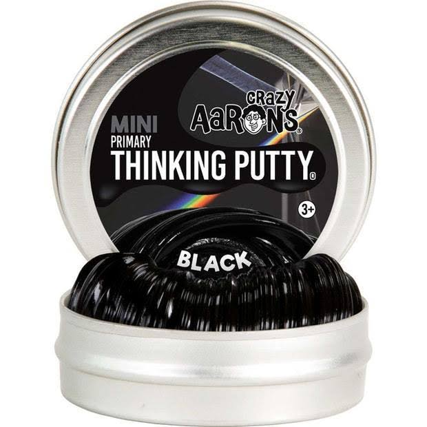 Crazy Aaron's Mini Thinking Putty, Black