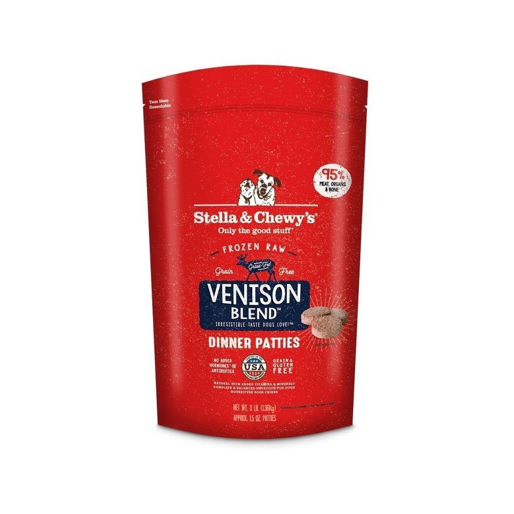 Stella & Chewys Frozen Dog Food Simply Venison Dinner - 3lb