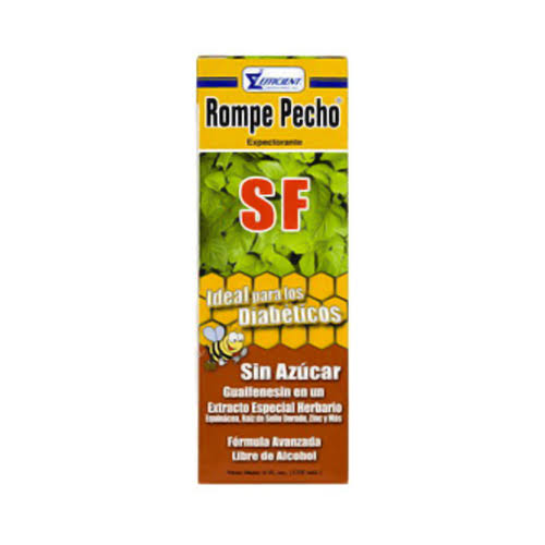 Rompe Pecho Expectorant, Sugar Free, Honey - 6 fl oz