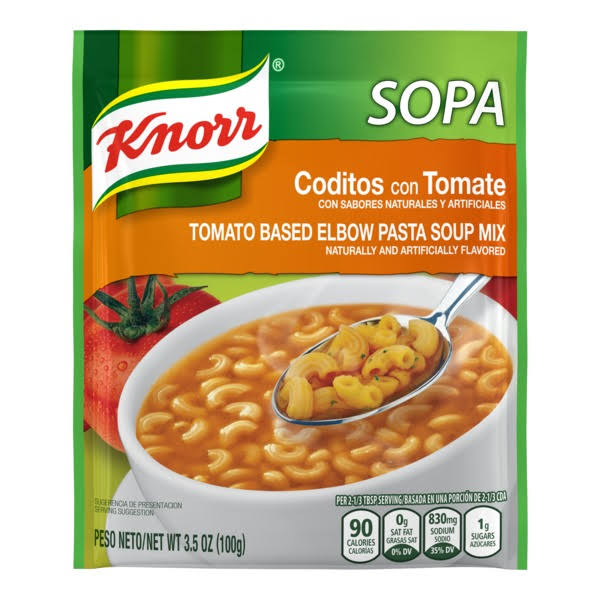 Knorr Tomato Based Elbow Pasta Soup Mix - 3.5oz