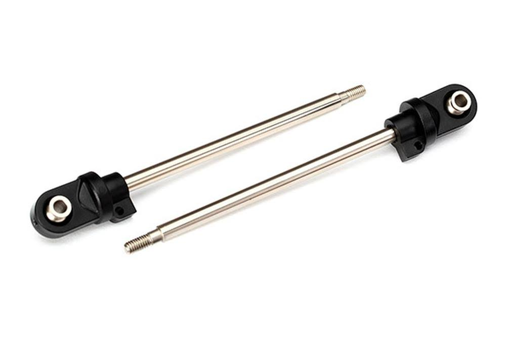 Traxxas Assembled Shock Shafts - GTX Rod Ends, 110mm