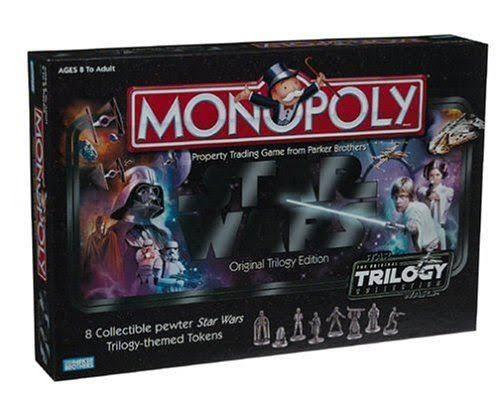 Monopoly Star Wars Original Trilogy Edition Board Games