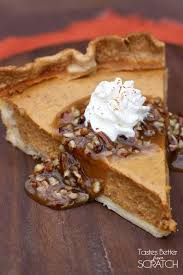 Libbys Pumpkin Pie Mix Ingredients by Pumpkin Pie With Caramel Pecan Topping Tastes Better From Scratch