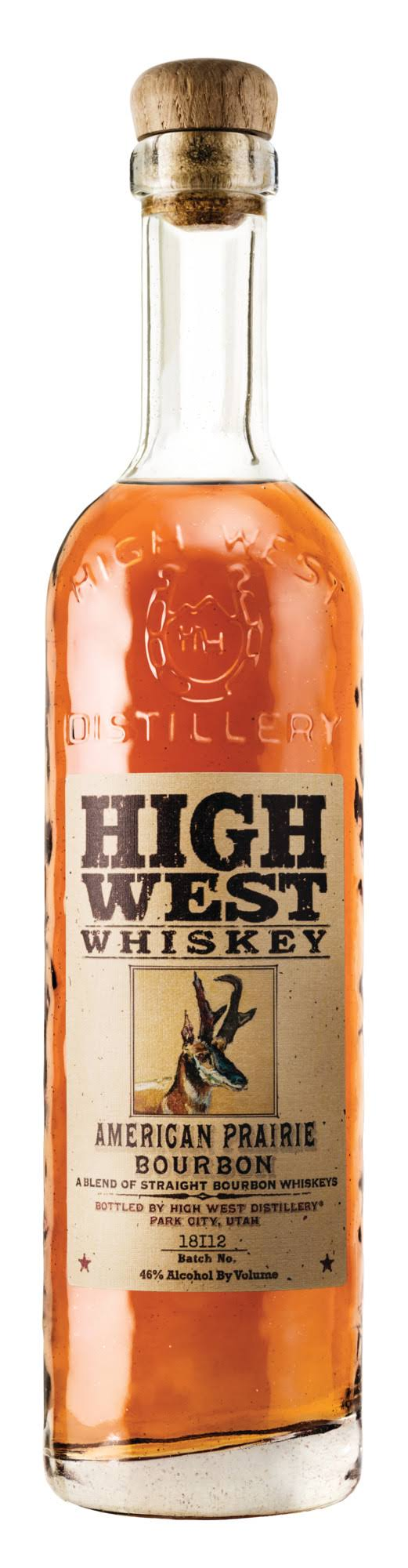 High West American Prairie Reserve Whiskey - 750 ml bottle