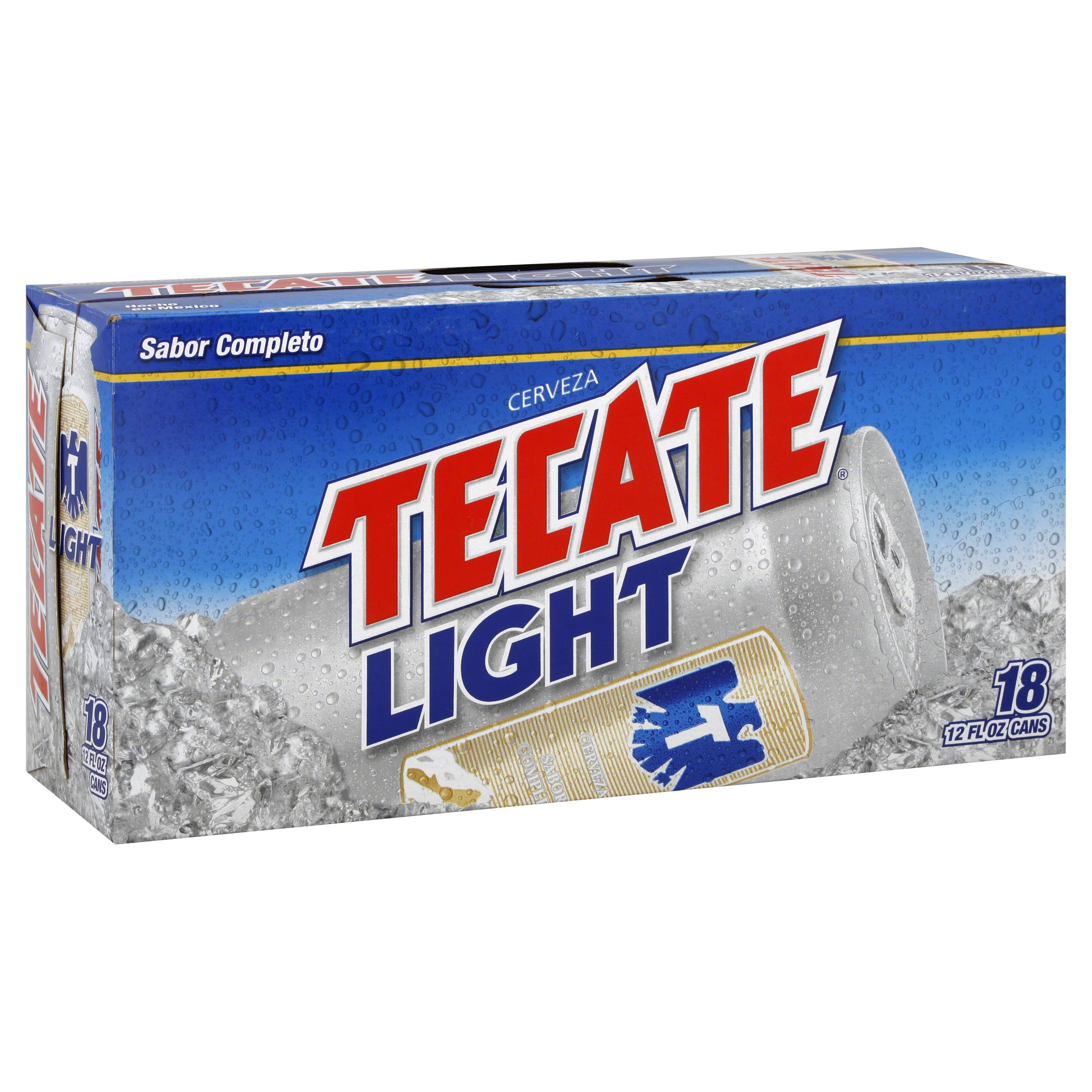 Tecate Light Mexican Beer