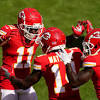 Chiefs down several offensive pieces with Buffalo on deck