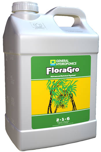 General Hydroponics FloraGro - 2.5 Gallon