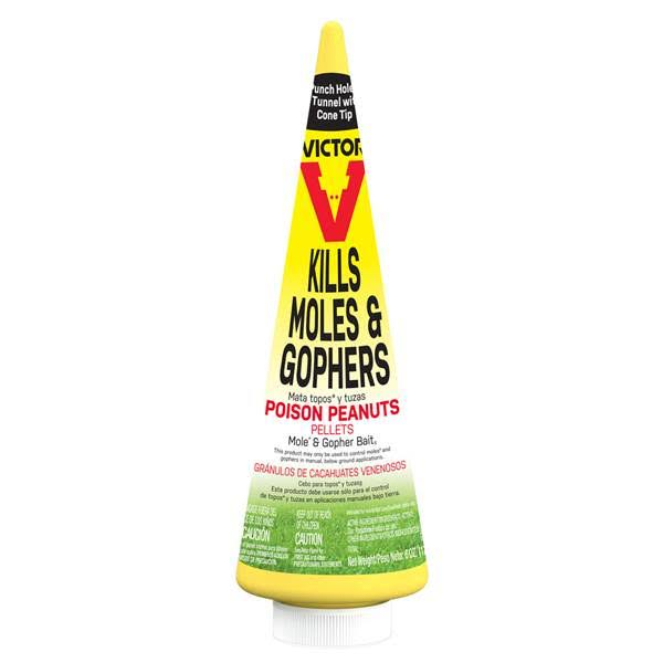 Victor M6006 Mole & Gopher Poison Peanuts, 6 oz