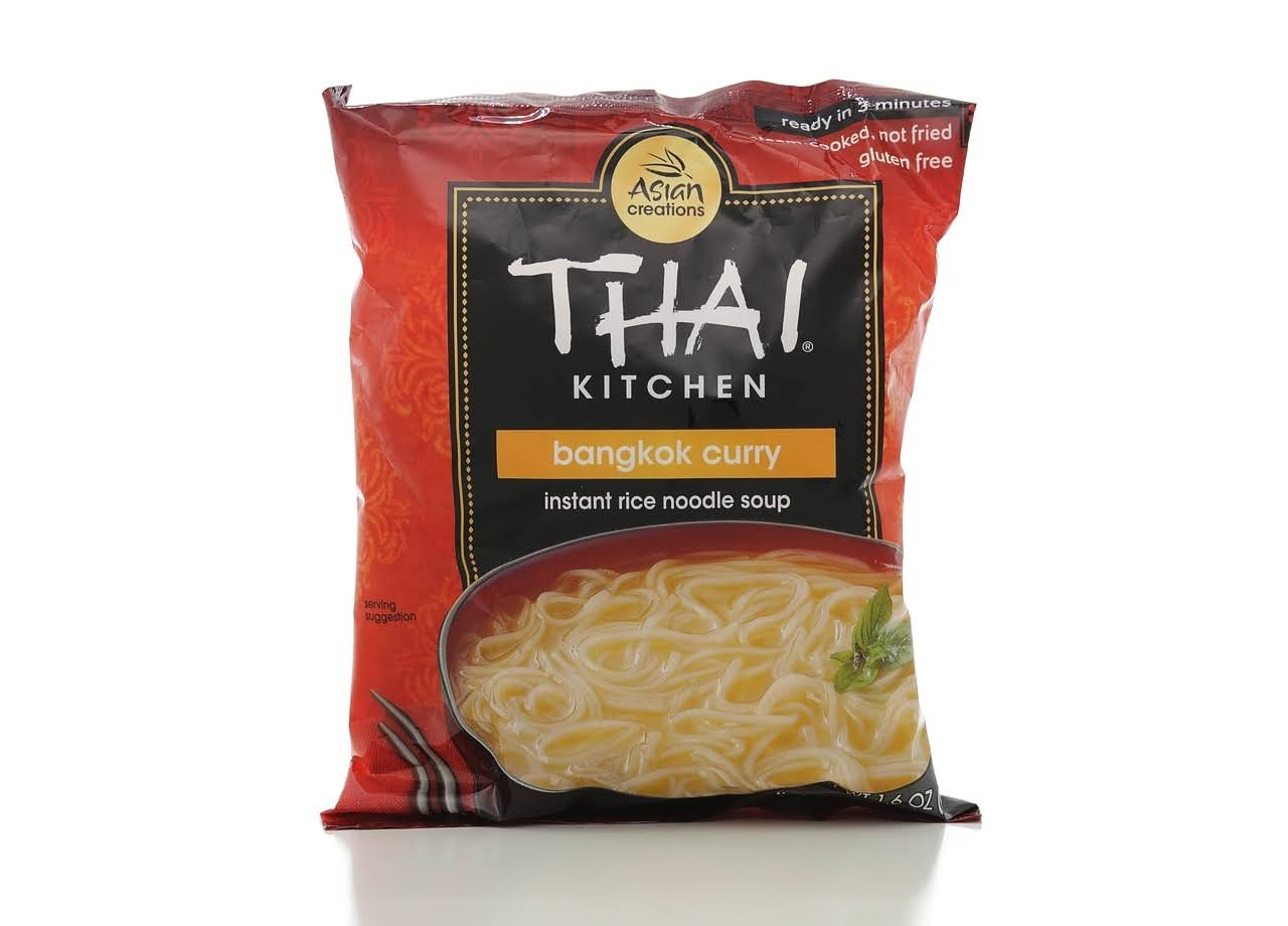 Thai Kitchen Instant Rice Noodle Soup, Bangkok Curry, Medium - 1.6 oz