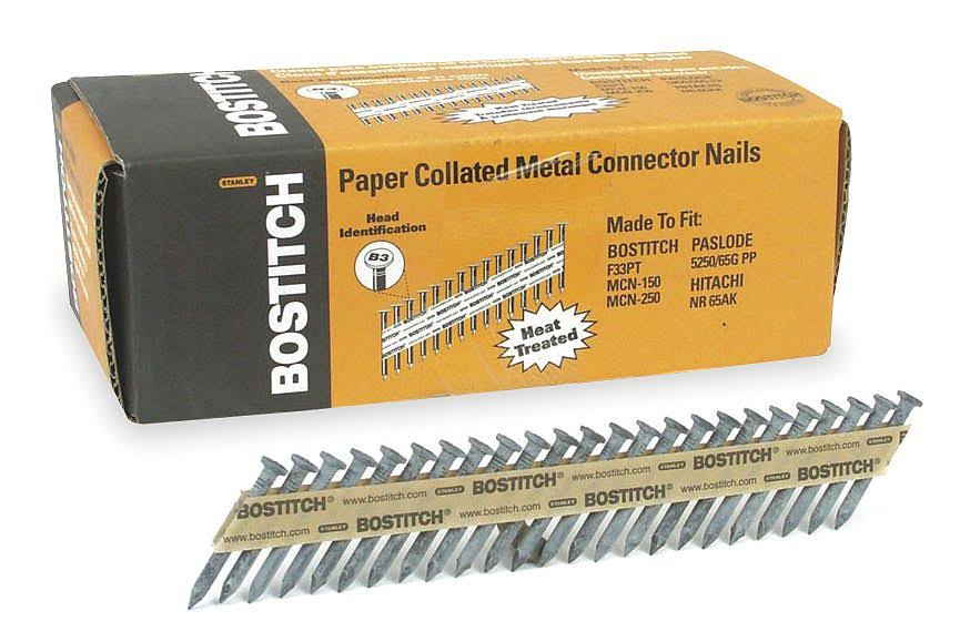Stanley Bostitch Connector Nail - Size 1-1/2 X 0.148