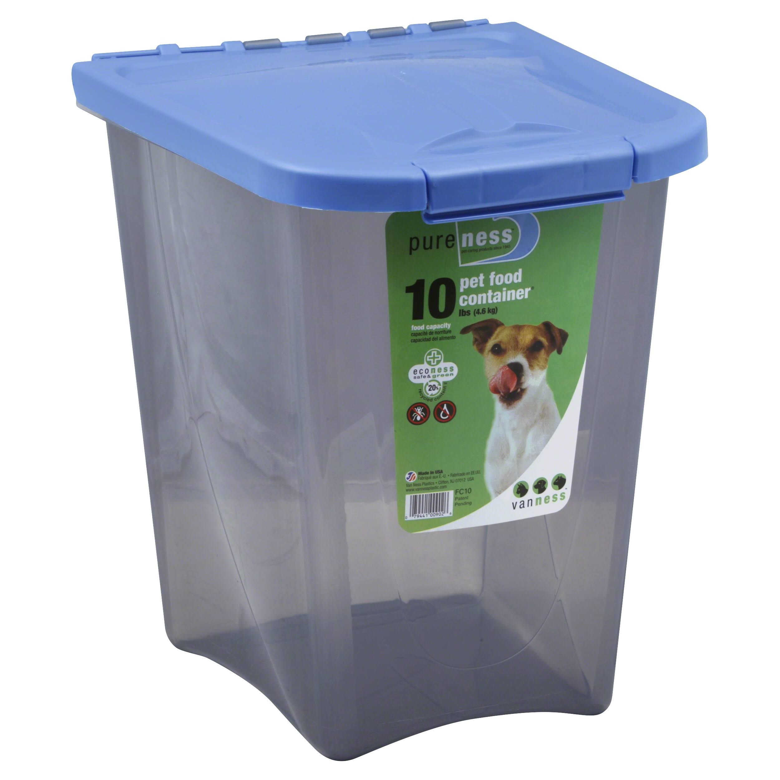 Van Ness Plastic Molding Pet Food Container - 10lb