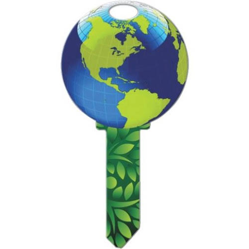 Lucky Line Earth Schlage Key Blank