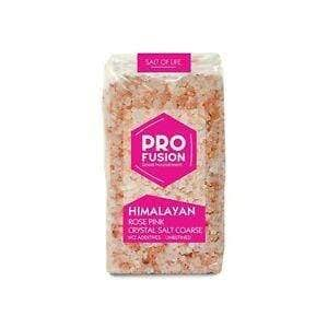 Profusion Himalayan Rose Pink Crystal Salt - Coarse, 500g