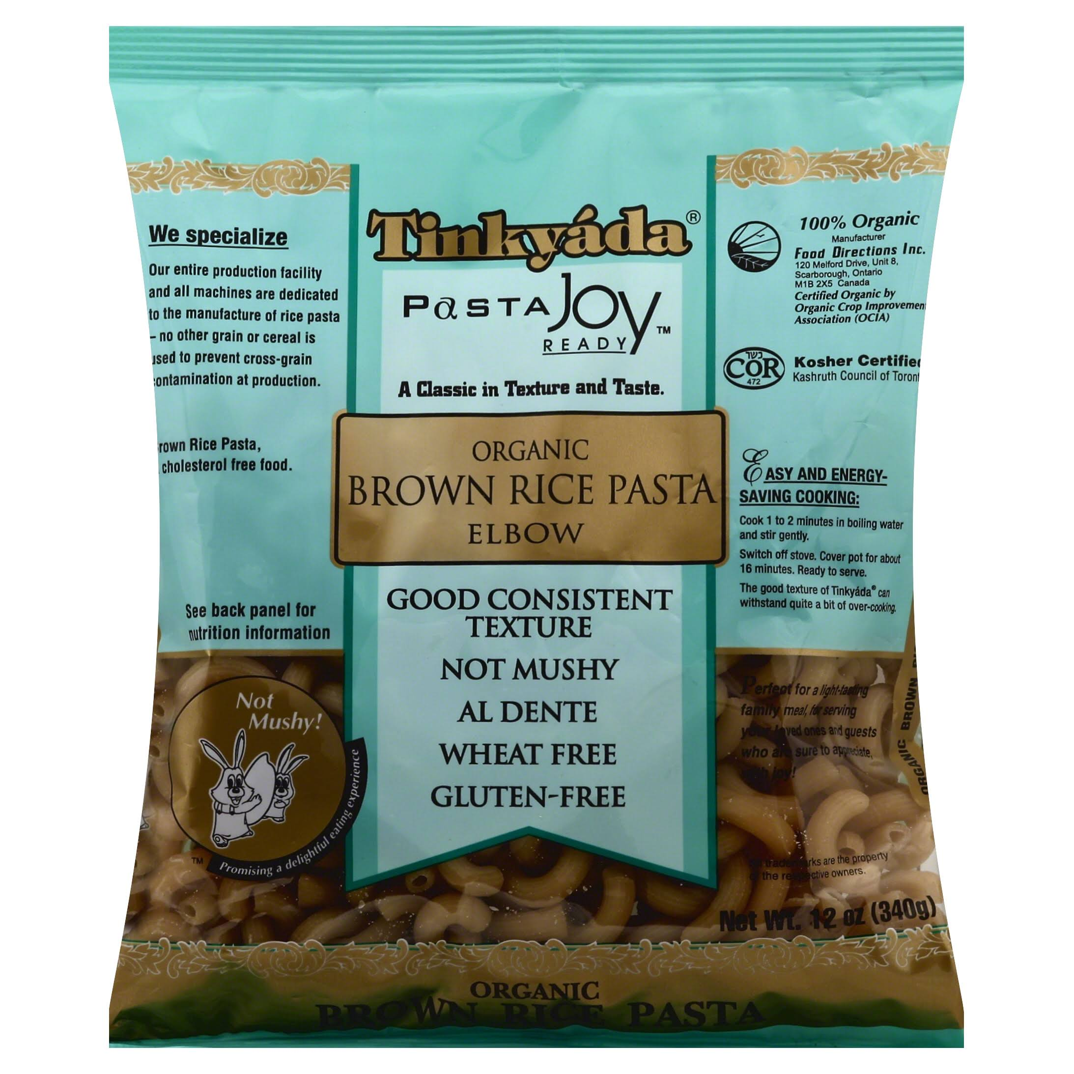 Tinkyada Brown Rice Elbow Pasta