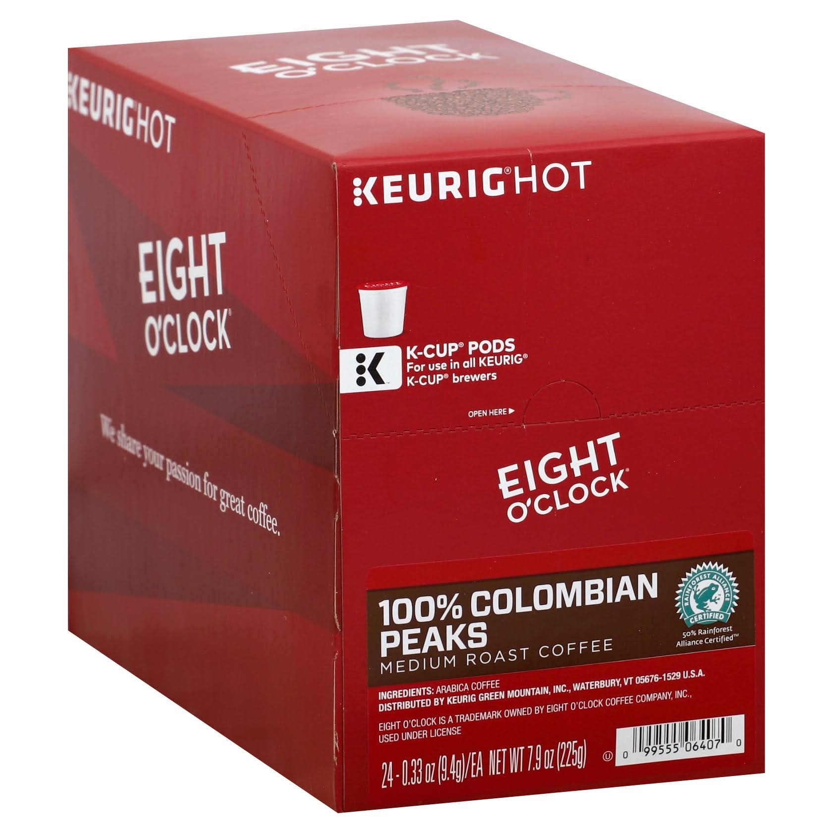Eight O Clock Coffee - Colombian Peaks, 72ct