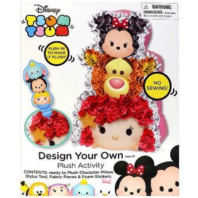 Tara Toys Tsum Tsum Design Your Own Plush Activity Toys