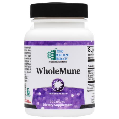 Ortho Molecular Products Wholemune Supplement - 30 Capsules