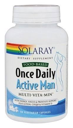 Solaray Once Daily Active Man Dietary Supplement - 90ct