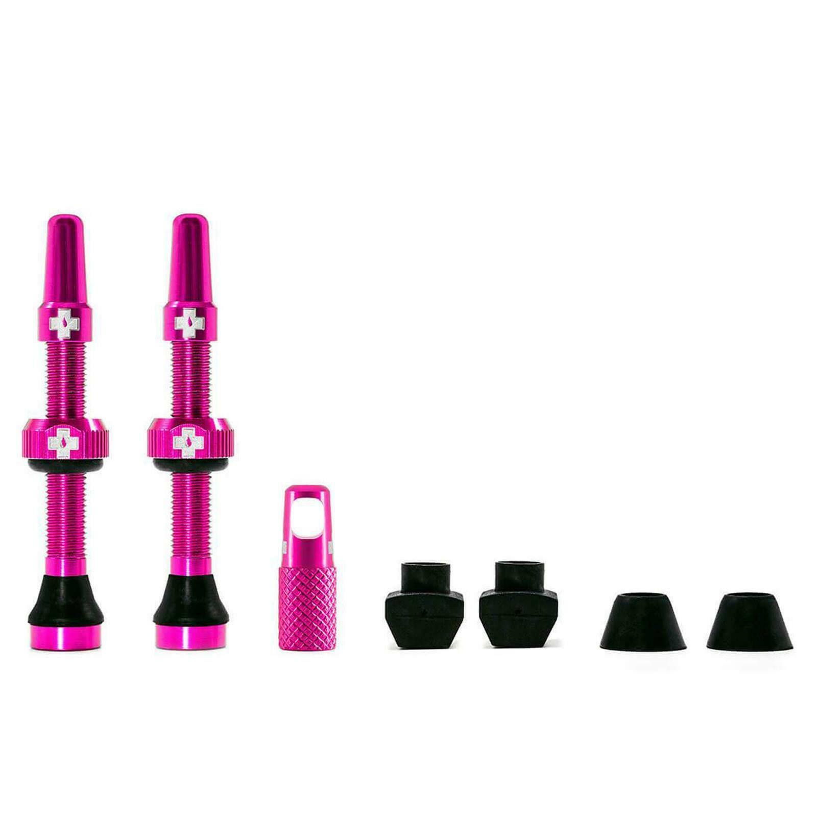 Muc-Off Tubeless Valve Kit 44mm / Pink