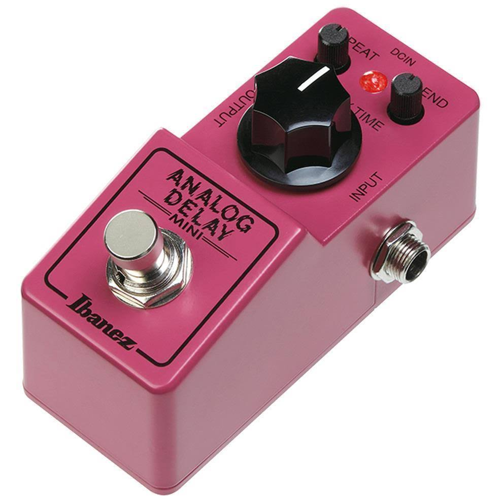 Ibanez Ad Mini Analog Delay Effect Pedal