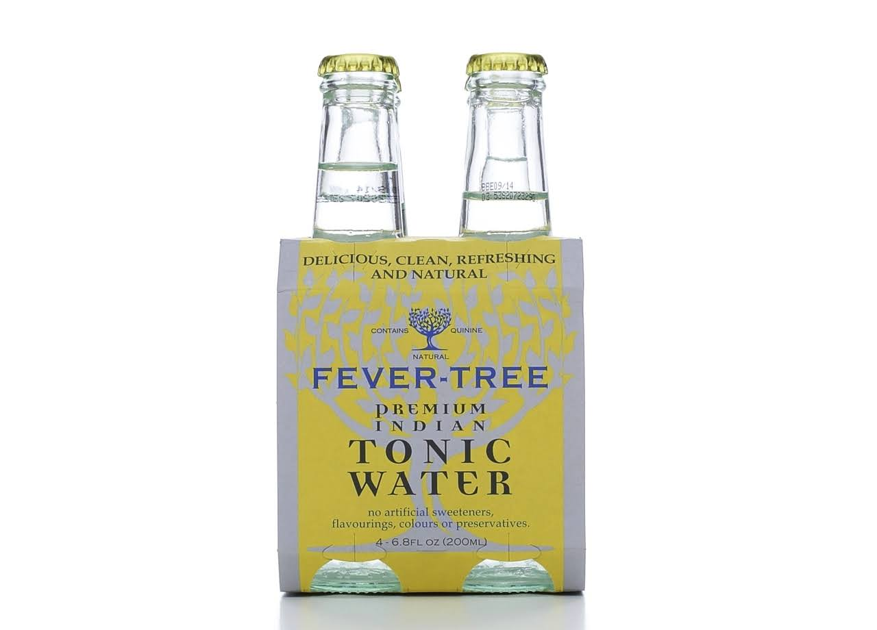 Fever-Tree Soda Tonic Water - 4x200ml