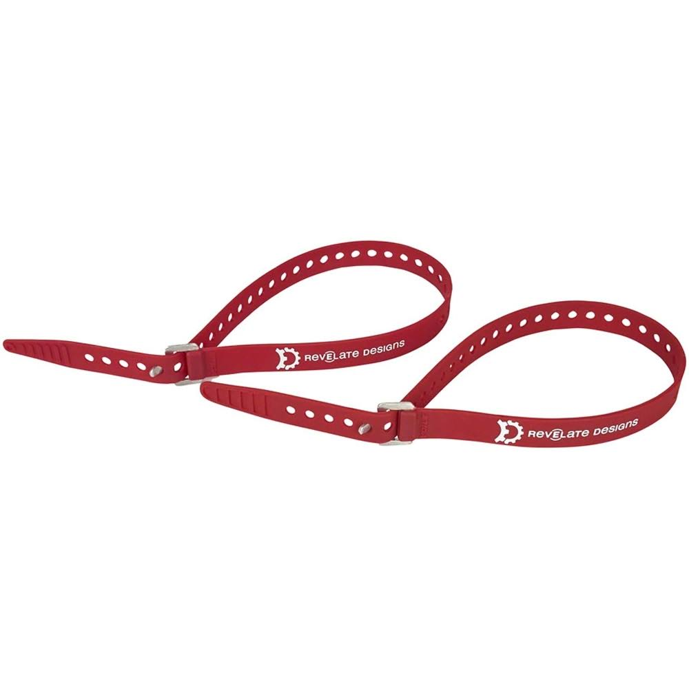 Revelate Designs Washboard Straps - 20', 2 Pack, Red