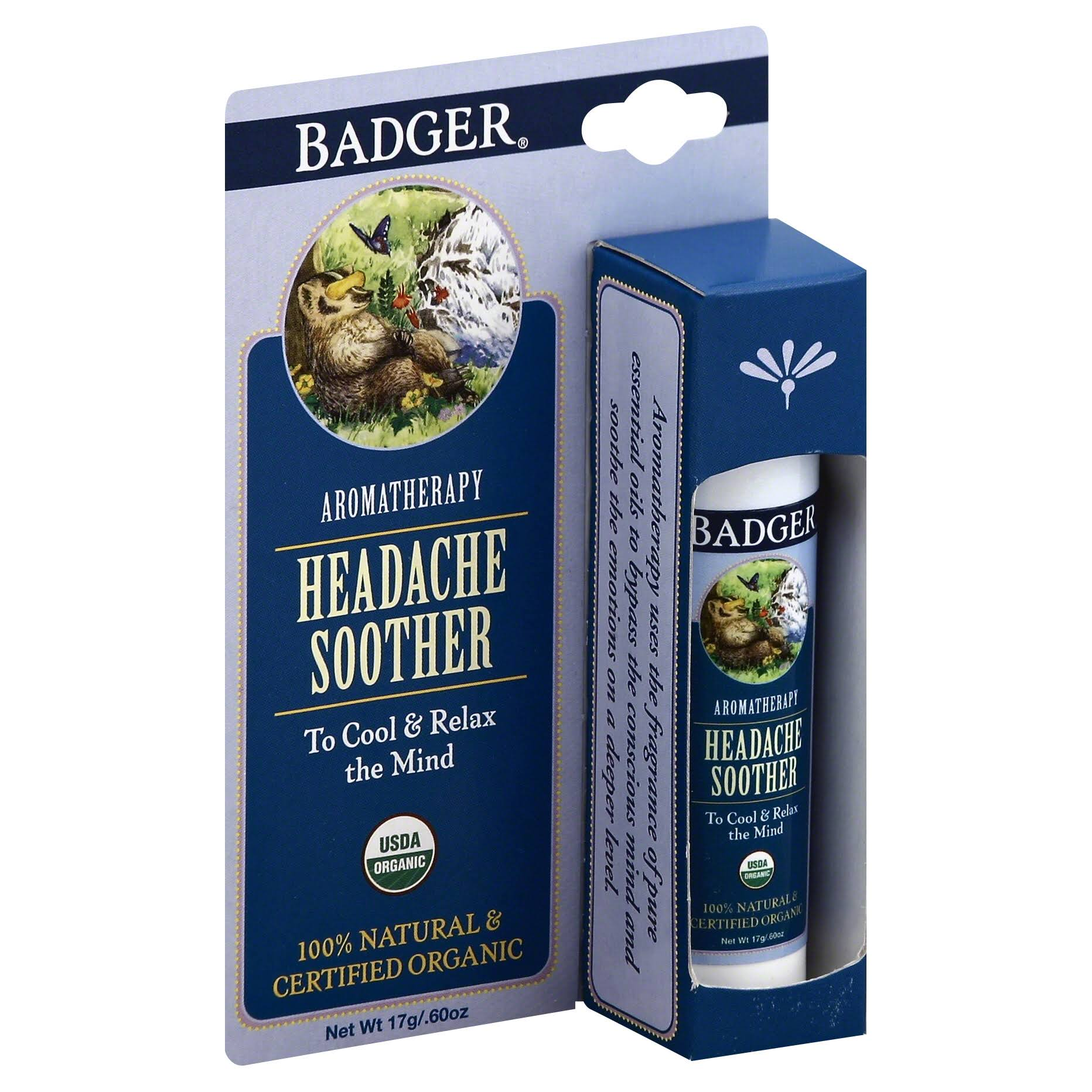 Badger Headache Soother - 17g