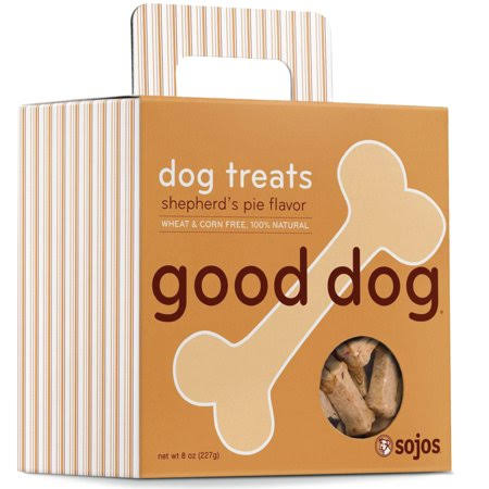 Sojos Good Dog Shepherd's Pie Dog Treats - 8 oz