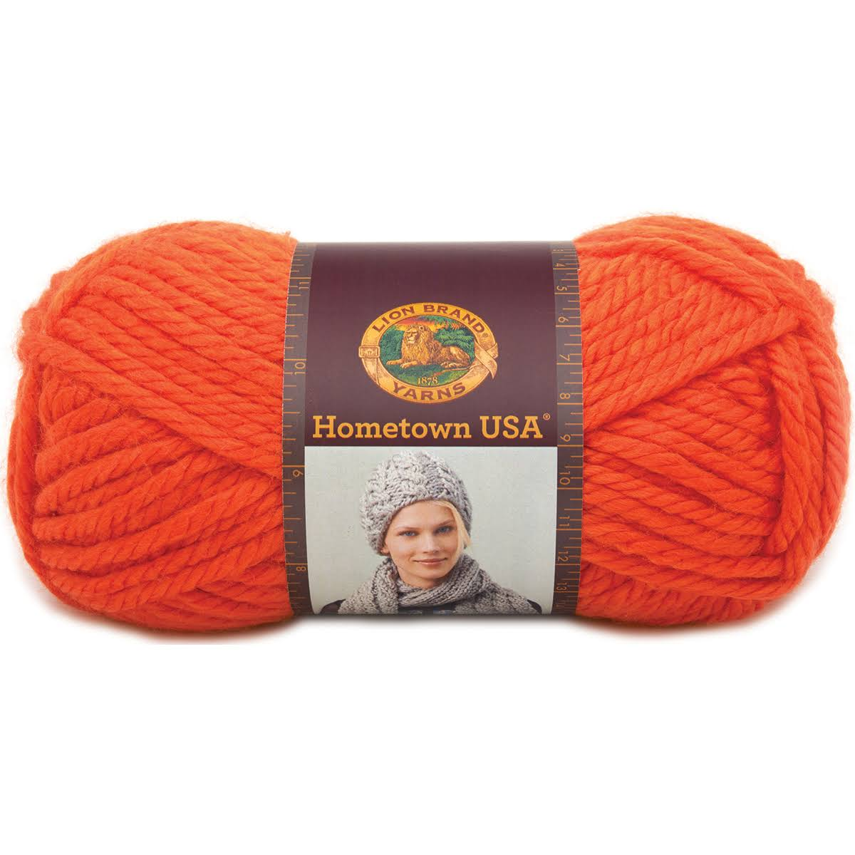 Skeins Lion Brand Hometown Usa Yarn - Syracuse Orange