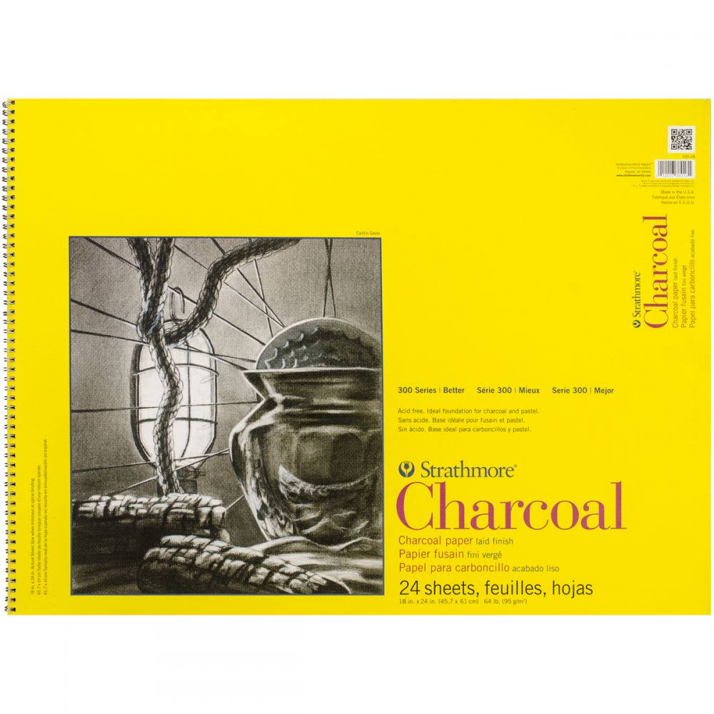 Strathmore Charcoal Paper - 24 Sheets