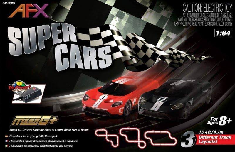 AFX Super Cars Set
