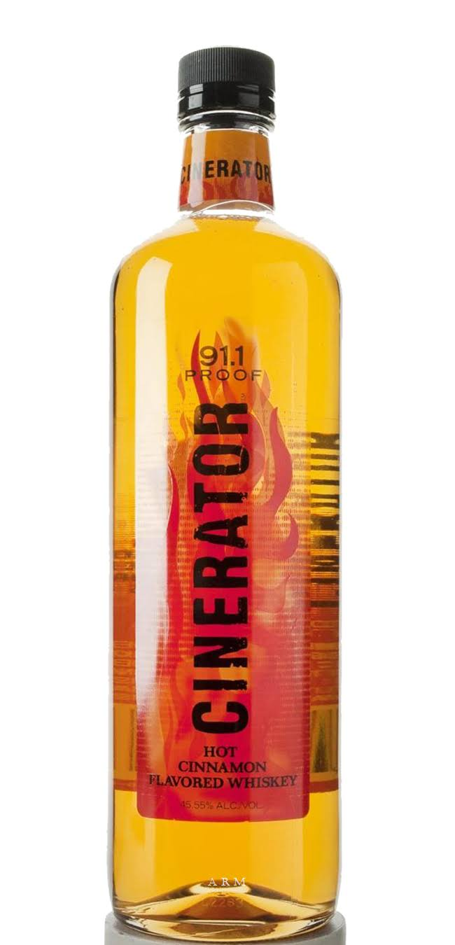 Cinerator Whiskey, Hot Cinnamon - 750 ml bottle