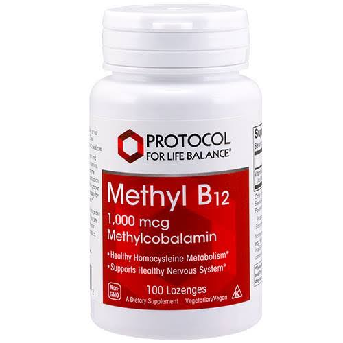 Protocol For Life Balance Methyl B12 Supplement - 60 Lozenges
