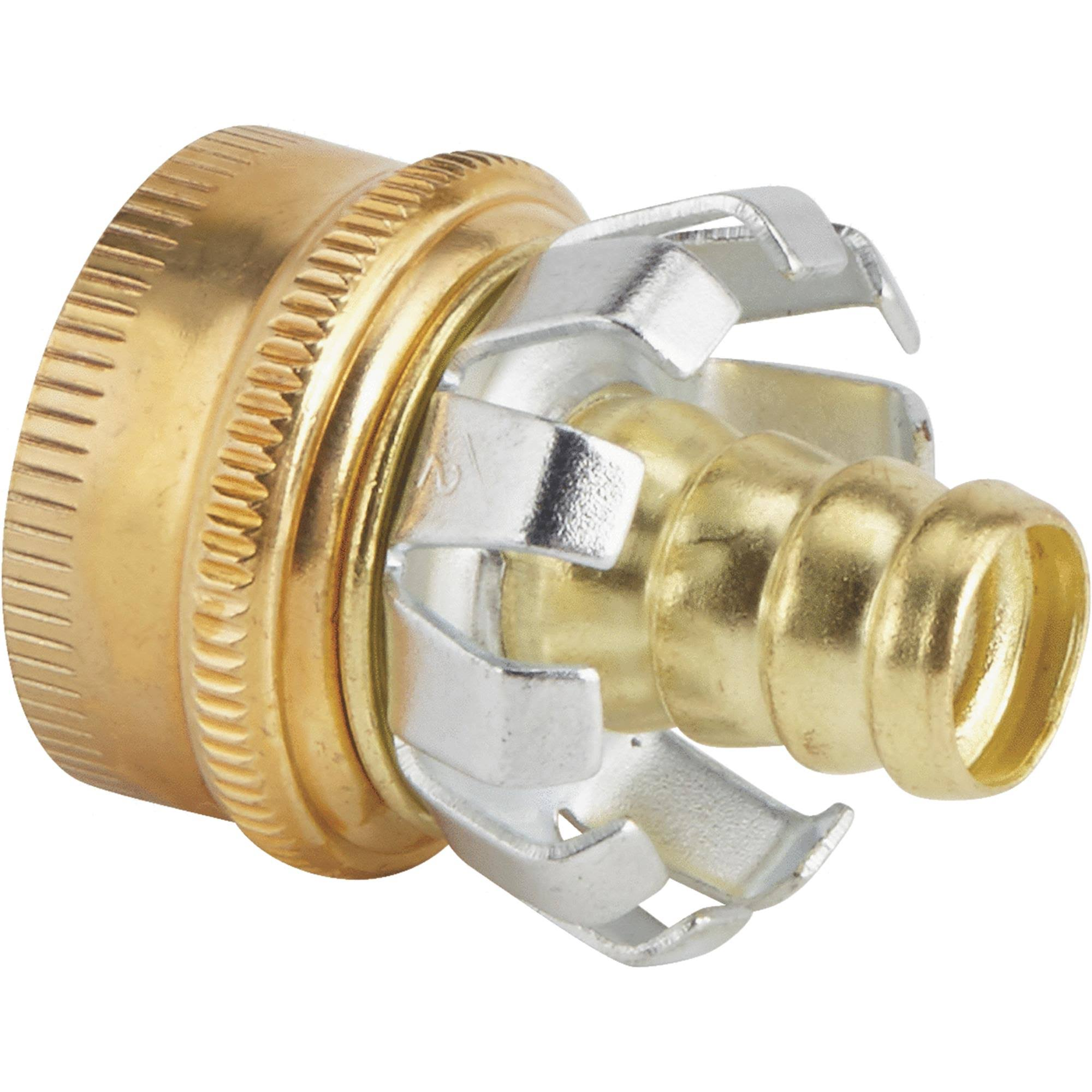 Do it Best Brass Hose End Coupler And Mender