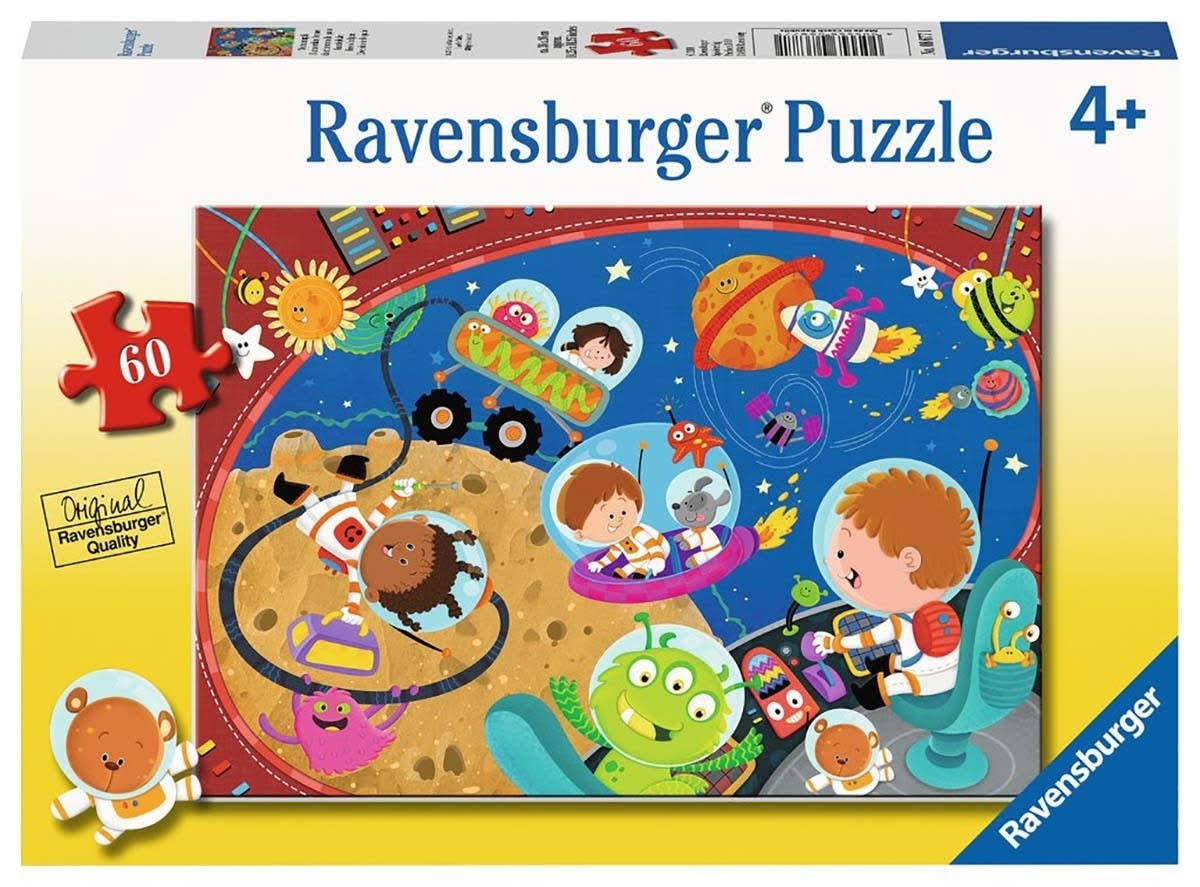 Ravensburger Recess in Space Jigsaw Puzzle - 60pcs