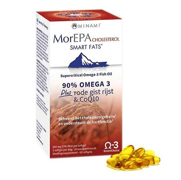 Minami MorEPA Smart Fats Cholesterol Supplement - 30ct