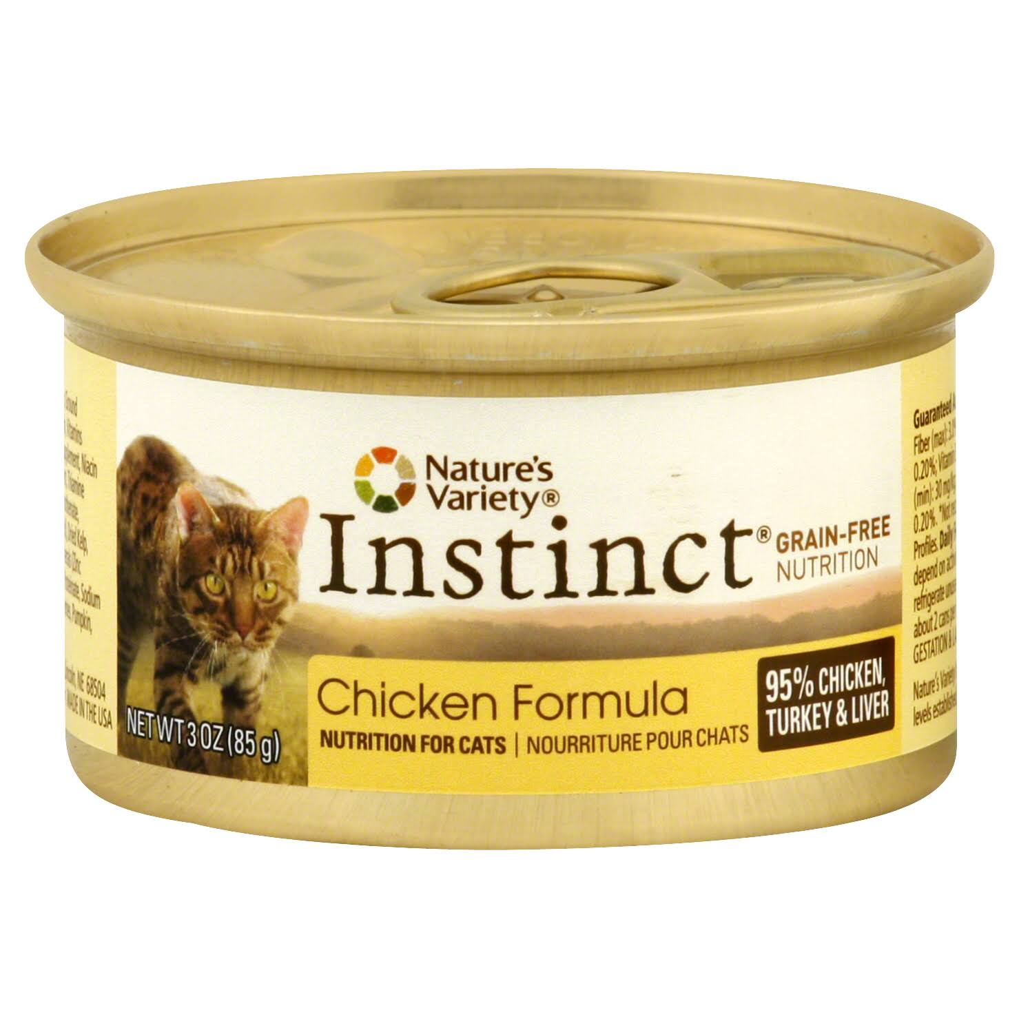 Nature's Variety Instinct Cat Food - Chicken Formula