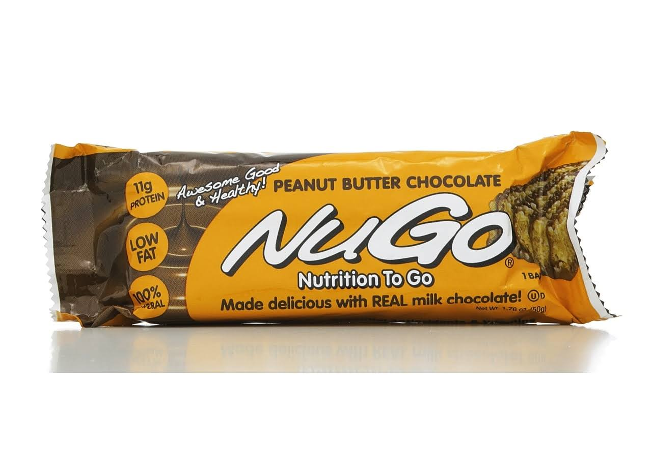 Nu Go Nutrition Bar - Peanut Butter Chocolate, 1.76oz