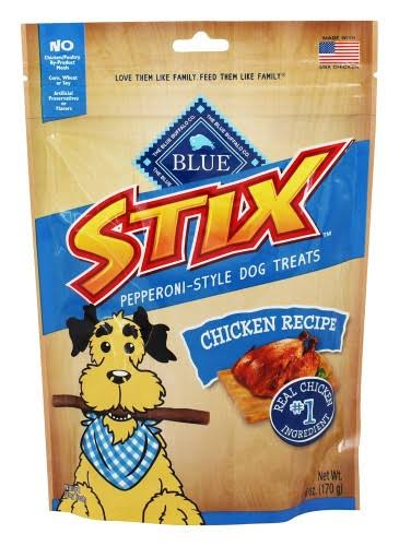 Blue Buffalo Blue Stix Dog Treats - Chicken and Brown Rice, 6oz