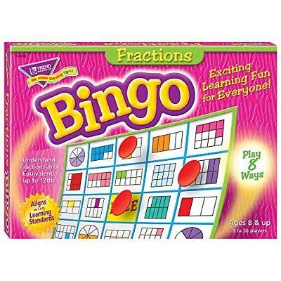 Trend Enterprises Fractions Bingo Game