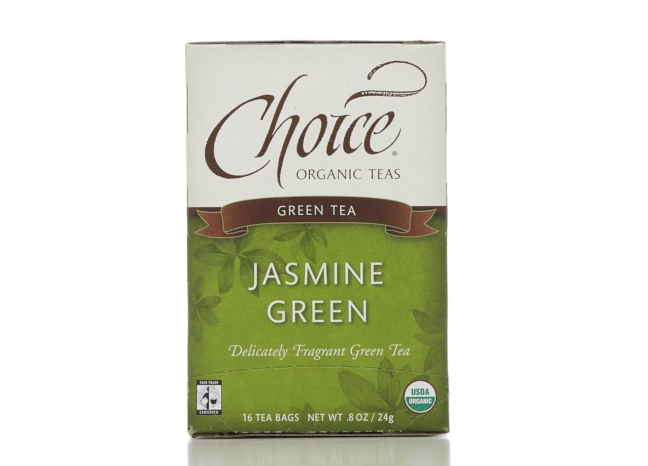 Choice Organic Jasmine Green Tea